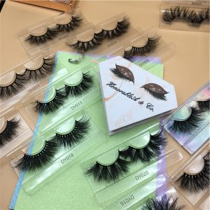 MAQUILLAGELASHES 25Mm Siberian Mink Lashes